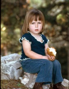 Image of Eva m Clark at age 5yrs.